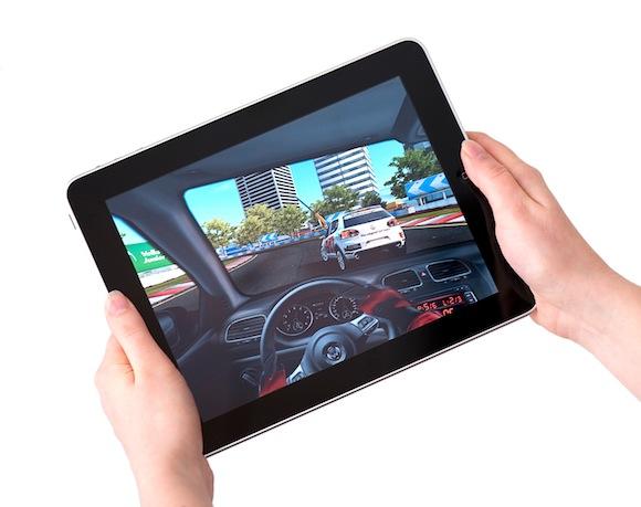 Real Racing 2 HD — специальная версия известного автосимулятора для iPad 2