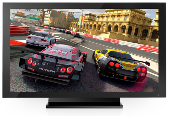 Real Racing 2 HD в 1080p через HDTV-выход