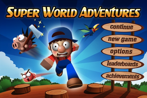 Super World Adventures. Супер Марио для iPhone