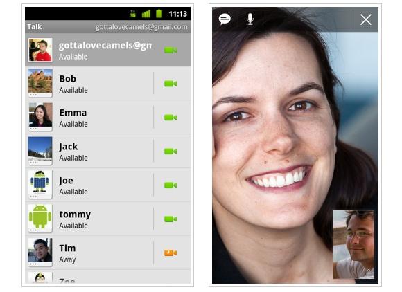 В Android появился свой аналог FaceTime