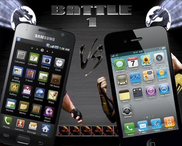 Apple обиделась на Samsung из-за серии Galaxy-девайсов