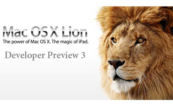 Что нового в Mac OS X Lion Developer Preview 3?