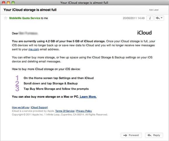Что будет, если превысить лимит iCloud в 5 Гб?