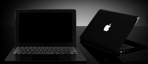 Чёрный MacBook Air от Apple