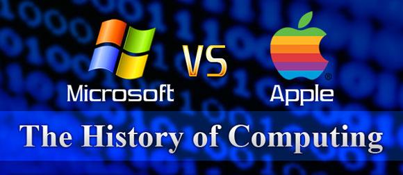 Microsoft и Apple. История противостояния