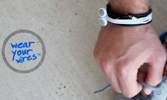 Budwrap: удобный браслет для переноски наушников от iPhone и iPod Touch