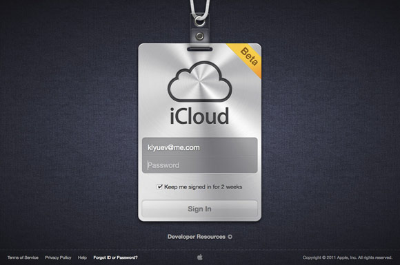 iCloud.com открылся в бета-режиме [Update]