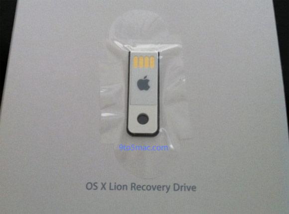 Флешки с OS X Lion уже в руках клиентов