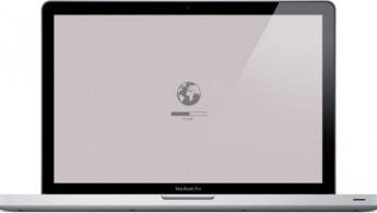 Восстановление через интернет на MacBook Pro