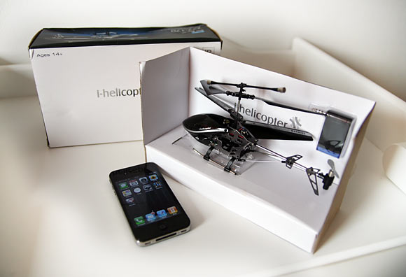 iHelicopter. айВертолет, который летает
