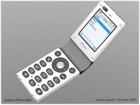 Apple и кнопочный телефон