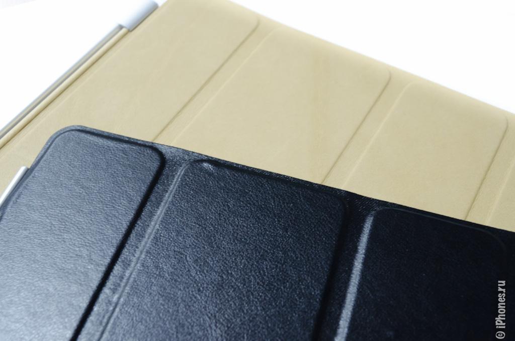 Обзор поддельного iPad Smart Cover и его сравнение с оригиналом