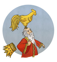 золотой петушок картинки