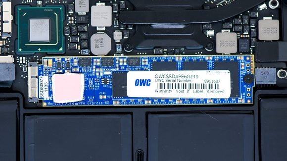 Сверхбыстрый SSD для MacBook Air