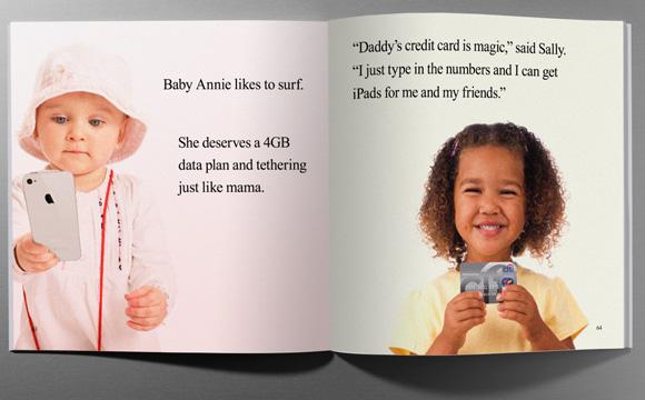 Apple взялась за детские книжки