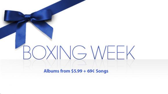 """Boxing Week"" в iTunes Store"