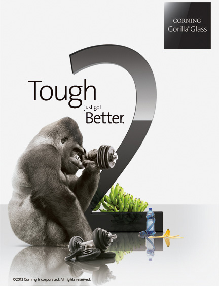 Corning Gorilla Glass 2: новое стекло для iPhone 5 и iPad 3?