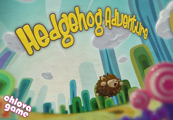 Hedgehog Adventure HD. Ежик-эквилибрист
