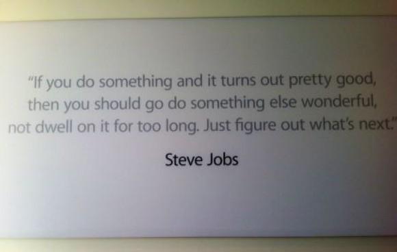 Цитаты Стива теперь украшают офис Apple