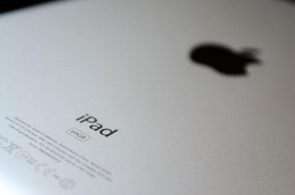 Дисплей iPad 3 под микроскопом