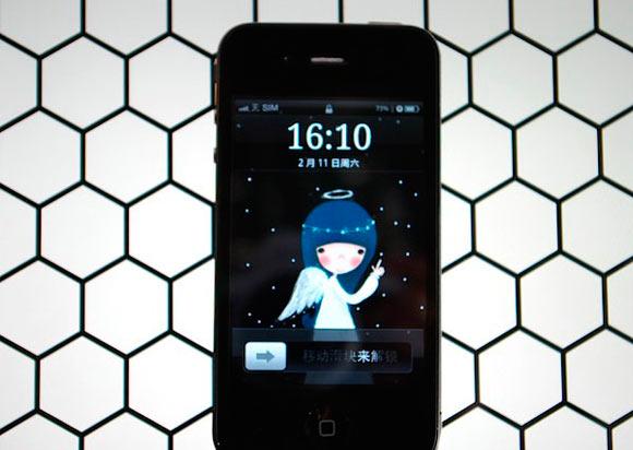 Клон iPhone 4S с Android 4.0 на борту