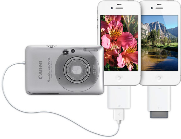 iConnectionKit подружит Camera Connection Kit ciPhone и iPod touch