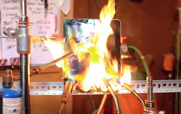 Тест нагрева нового iPad