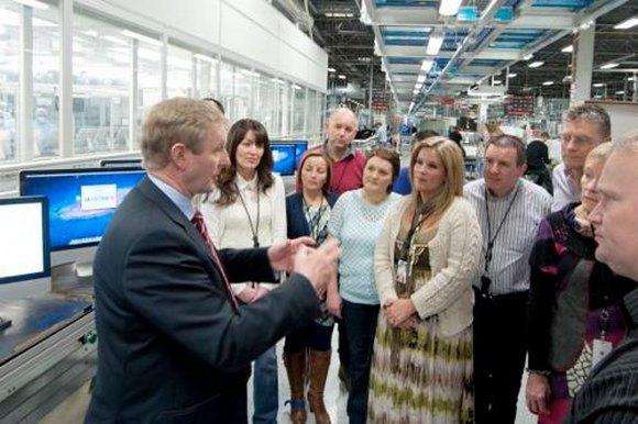 Ирландский премьер-министр посетил Apple