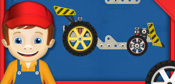 Construct a car. Конструктор для детей