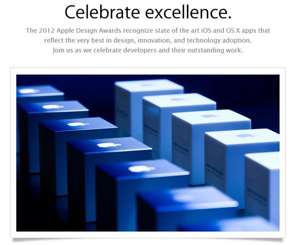 Apple Design Awards 2012