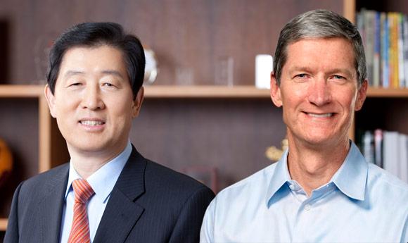 Руководители Samsung и Apple встретятся