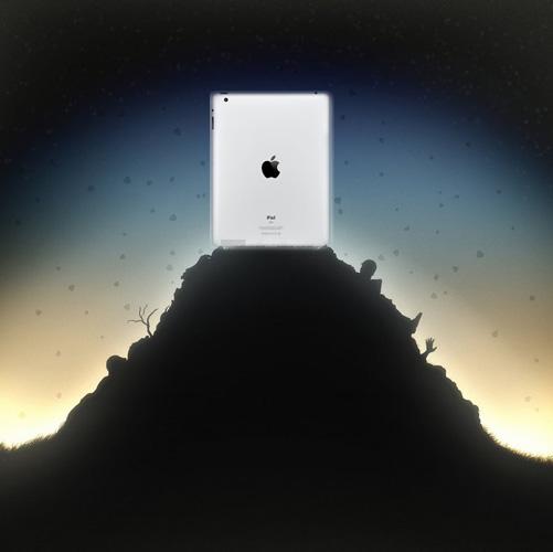 Apple остается «царем горы» на рынке мобильных компьютерных устройств