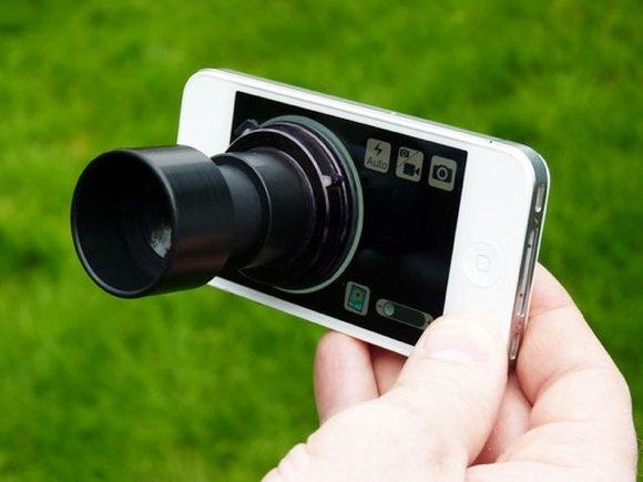 Daylight Viewfinder. Съемный видоискатель для iPhone 4/4S