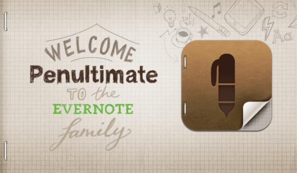 Evernote купил Penultimate