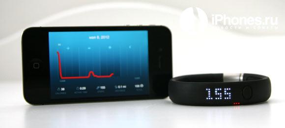 Опыт использования Nike+ Fuelband