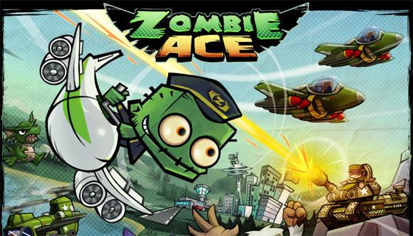 Zombie Ace. Зомби в воздухе