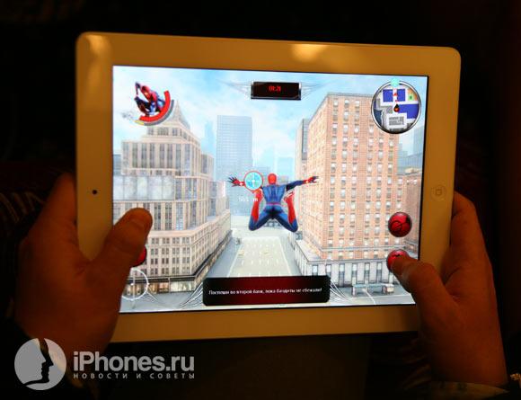 Первые живые кадры игры Amazing Spider-Man (Gameloft)