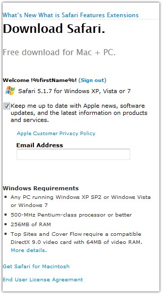 safari pc windows 7 download