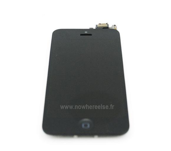 Новые фотографии передней панели <br>iPhone 5