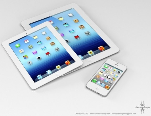 Эдди Кью, Стив Джобс и 7-дюймовый iPad