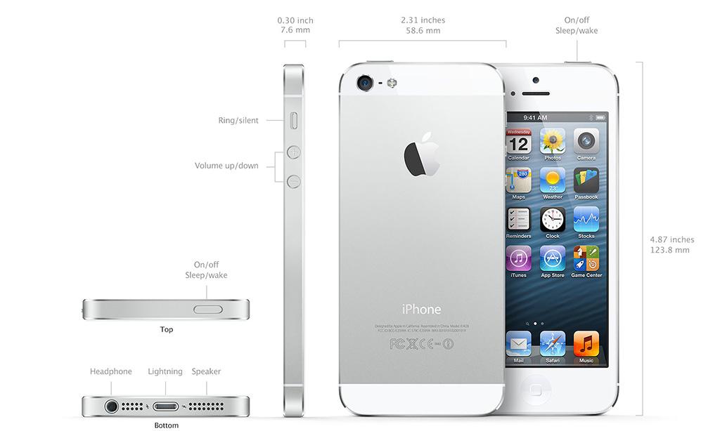 айфон 5 с характеристики фото