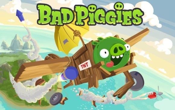 Геймплейное видео Bad Piggies от Rovio
