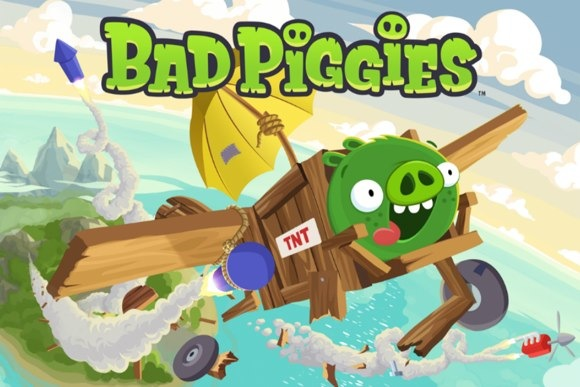Bad Piggies. Свинский конструктор
