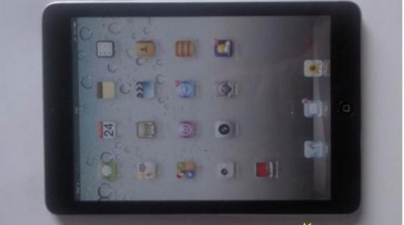 Первые фотографии работающего iPad mini
