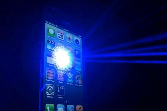Лазеры против iPhone 5