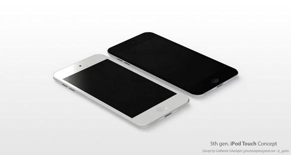 Концепты новых iPod touch и… iPod classic