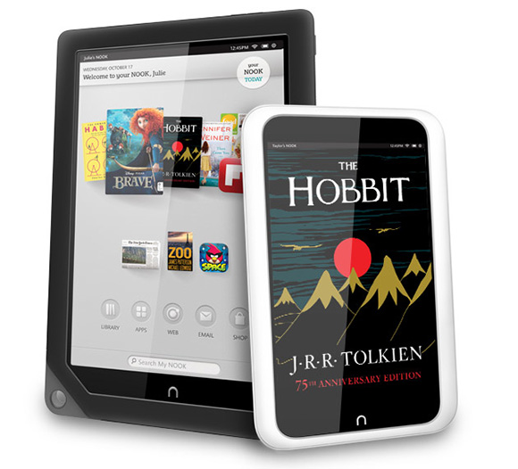 Barnes & Noble против Amazon и Apple: Nook HD и Nook HD+