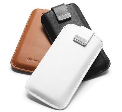 Обзор чехла Spigen SGP Leather Pouch Crumena для iPhone 5. Тонкий кармашек