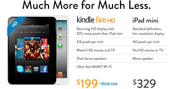 iPad mini на главной странице Amazon. Ненужно быть гением – 2