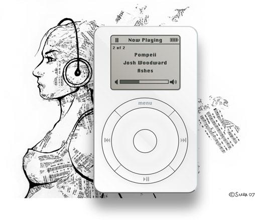 iPod первого поколения на HTML5